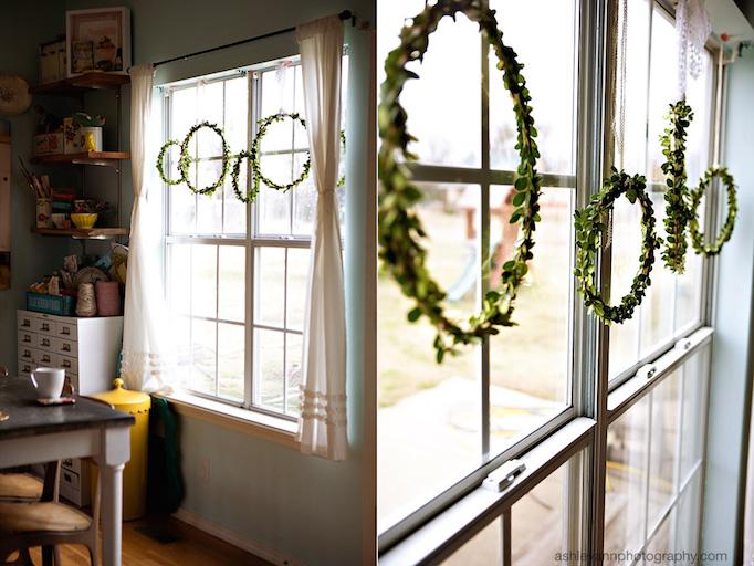 indoor holiday wreaths