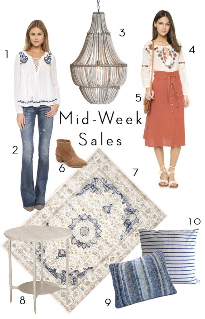 Mid-Week Sales
