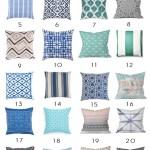 32 Outdoor Pillows under $100