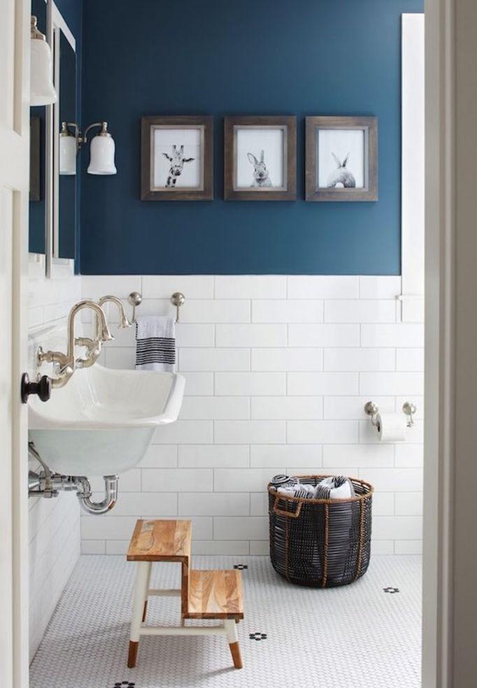 Bathroom New Colors of 2017 BluesBECKI OWENS