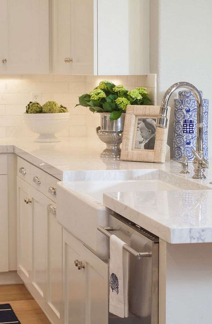 BECKI OWENS Marble Alternative Thick Quartzite