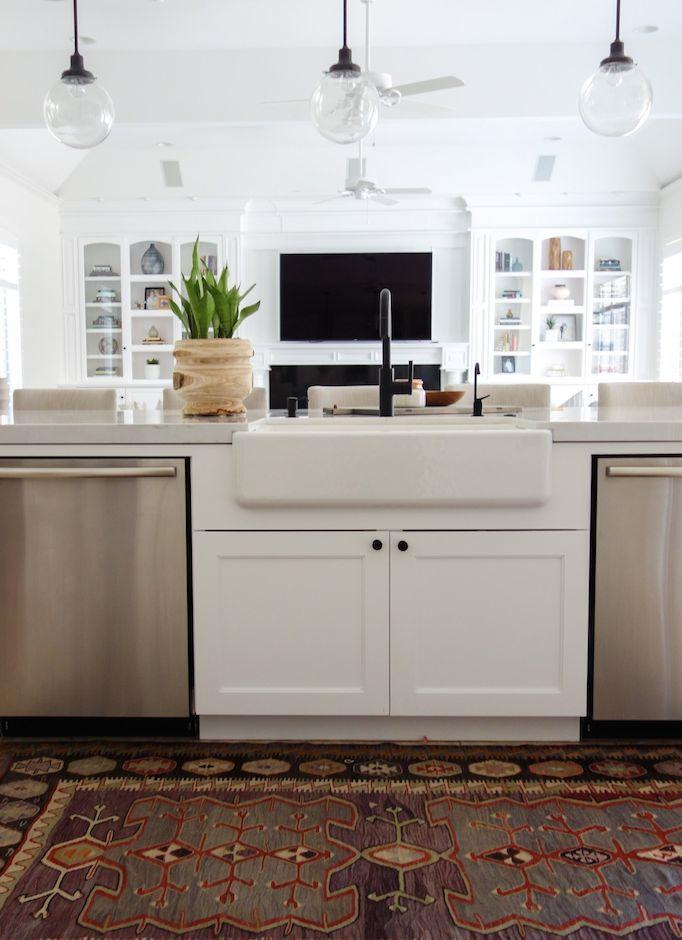 mitered edge kitchen becki owens