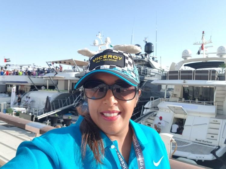 Selfie in Abu Dhabi