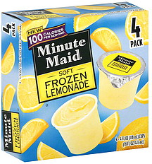 Minute Maid Frozen Lemonade Soft 40 Ea Nutrition