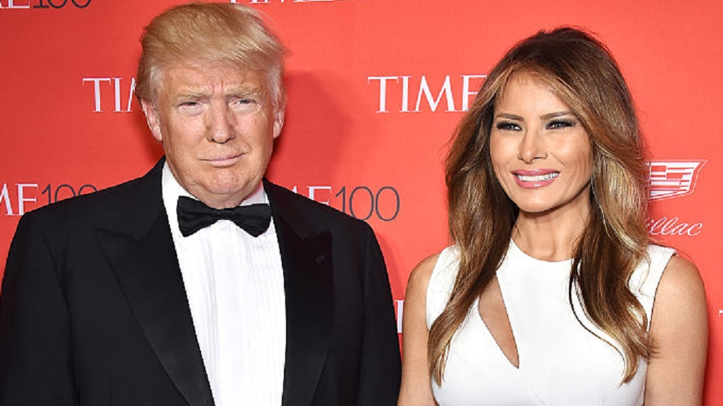 Mrs Trump denied having a relationship with the US presenter. (AAP)