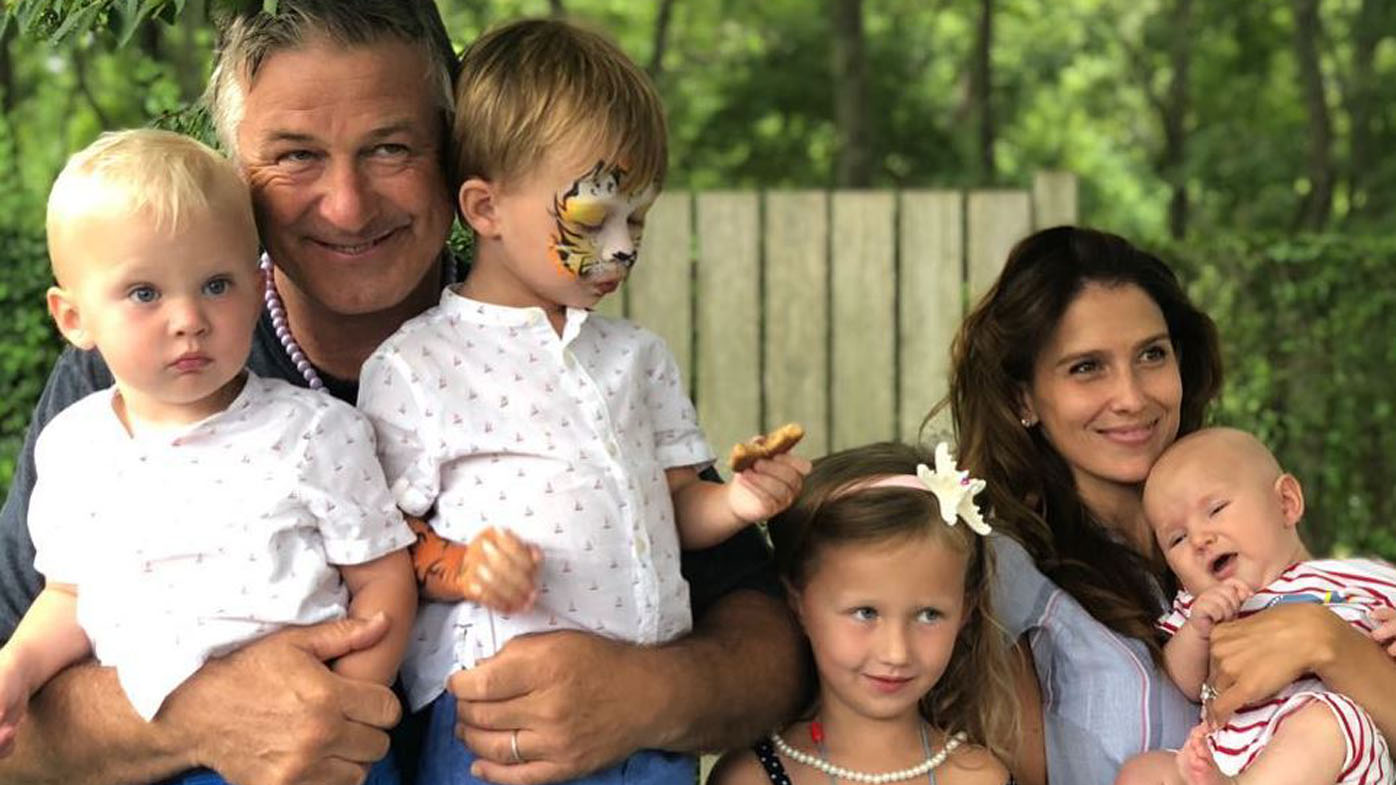 Alec Baldwin Poses With Wife Hilaria And Their Four Kids In Magazine Shoot 9Celebrity