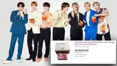 People are reselling their Macca's BTS sauces for hundreds of dollars on eBay