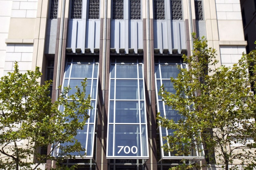 The building that houses the APCO Worldwide headquarters sits at 700 12th Street N.W. in Washington, D.C., U.S., on Tuesday, Aug. 10, 2010. APCO, the public relations firm that advised Hewlett-Packard Co.'s board on the forced resignation of its chief executive officer, has a history of being in the middle of crises from WorldCom Inc.'s account fraud to Wall Street's tarnished image. Photographer: Andrew Harrer/Bloomberg via Getty Images