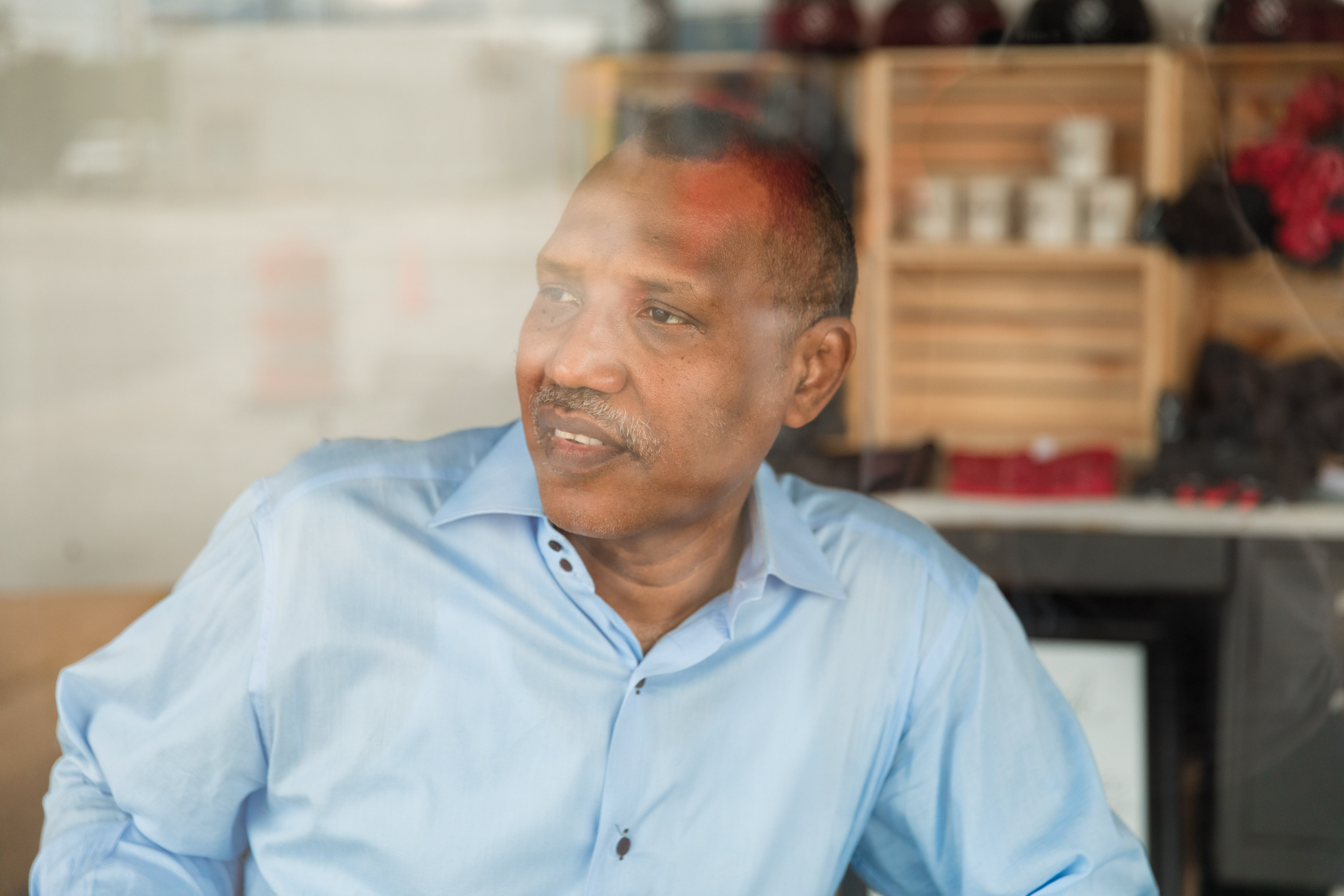 Omar Shekhey, executive director of the Somali American Community Center, shares the story of his organization and the kinship of Clarkston, Ga. Lynsey Weatherspoon for The Intercept