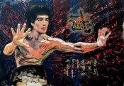 """Warrior spirit"" (acrylics on canvas, 100x70cm)"