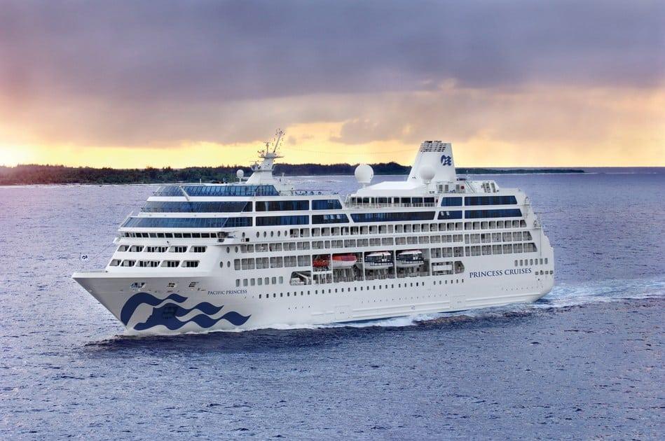 Αποτέλεσμα εικόνας για Pacific Princess emerges from Drydock with modern touches amidst traditional charm
