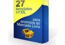 27 Templates profissionais para anúncios do Mercado Livre