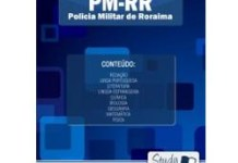 Apostila Concurso PM-RR Policia Militar de Roraima – Soldado PM