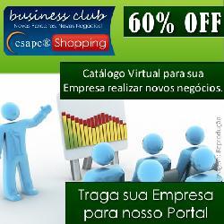 GREEN WEEK – AFILIAÇÃO BUSINESS CLUB CESAPE SHOPPING com 60 OFF (Pcte. TRIMESTRAL)