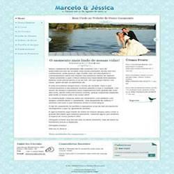 Convite digital de Casamento - site