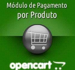 Módulo de pagamento por produto para OpenCart