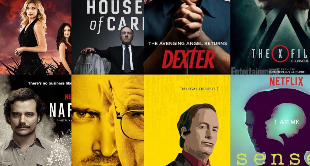 8 series mais assistidas da Netflix