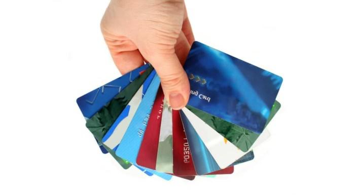 Diferentes tipos de Cartões de crédito