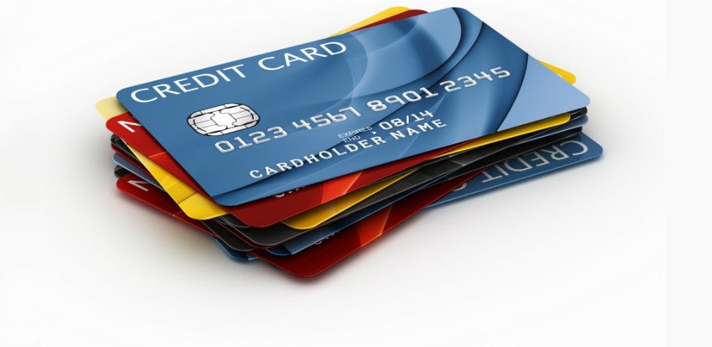 Diferentes tipos de cartões