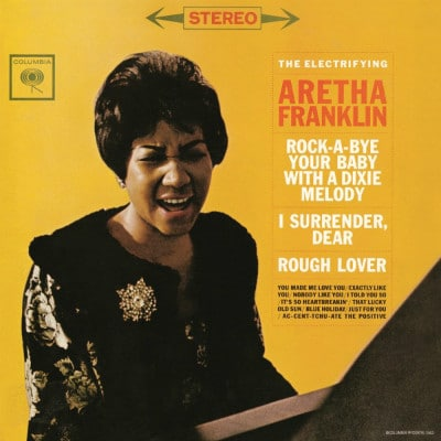 Disco de Aretha Franklin pela Columbia Record