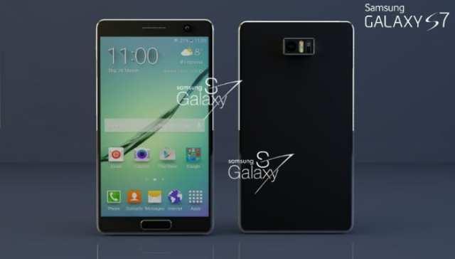 Galaxy S7 - frente e verso