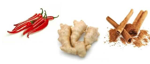 Pimenta Gengibre e Canela