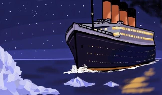 titanic - Top 10 dos piores filmes do IMDB