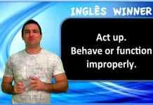 Phrasal Verbs: Gírias e Expressões em inglês