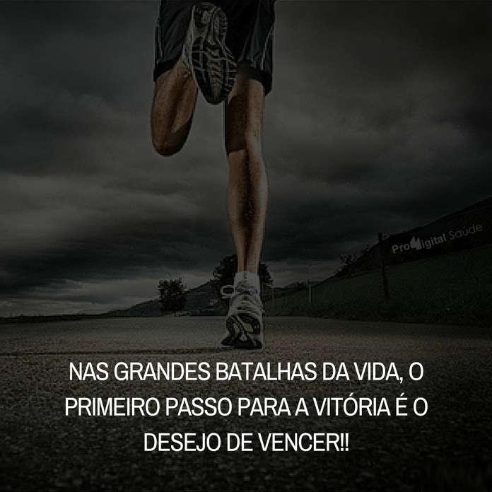 Frases de motivação - Nas grandes batalhas da vida... - Mahatma Gandhi