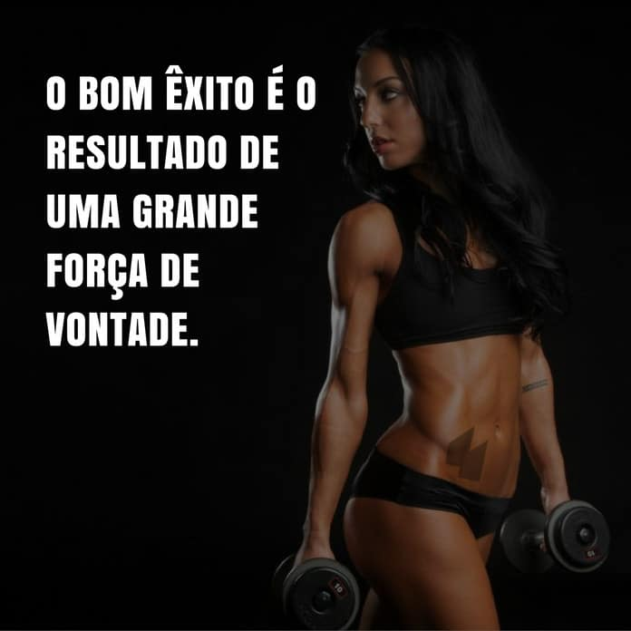 O bom êxito é o resultado de uma grande força de vontade. - Valdeci Alves Nogueira