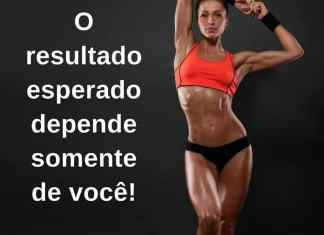O resultado esperado depende somente de você! - frases de incentivo
