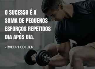 Frases de motivação - O sucesso é a soma de pequenos esforços repetidos dia após dia. - Robert Collier