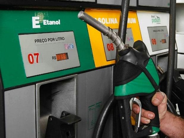 preço do etanol