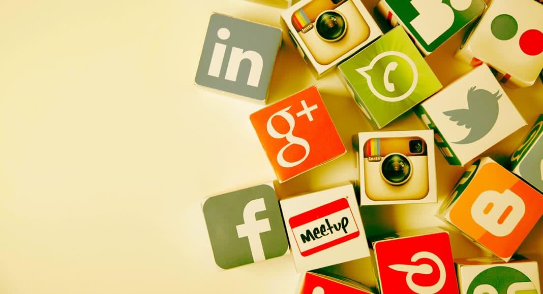 Quais as redes sociais mais utilizadas
