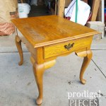 Queen Anne Table Made New Prodigal Pieces