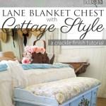 Lane Cedar Chest Crackle Paint Tutorial Prodigal Pieces