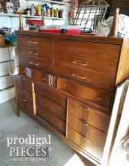 Boho Mid Century Modern Dresser Prodigal Pieces