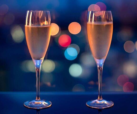 verres de champagne fond d ecran