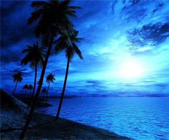 plage bleue fond d ecran telecharger