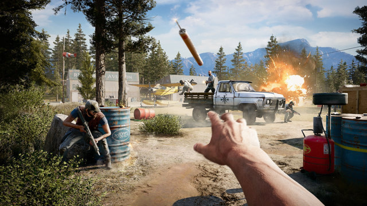 Far Cry 5 Guide On Location Of All Alien Objects