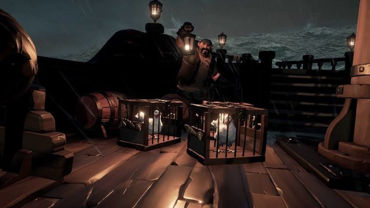 Sea Of Thieves Where And How To Catch Chickens For Quest