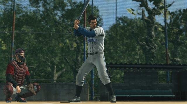 how to play baseball in yakuza