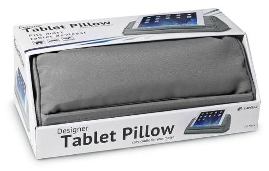lapgear designer tablet pillow grey