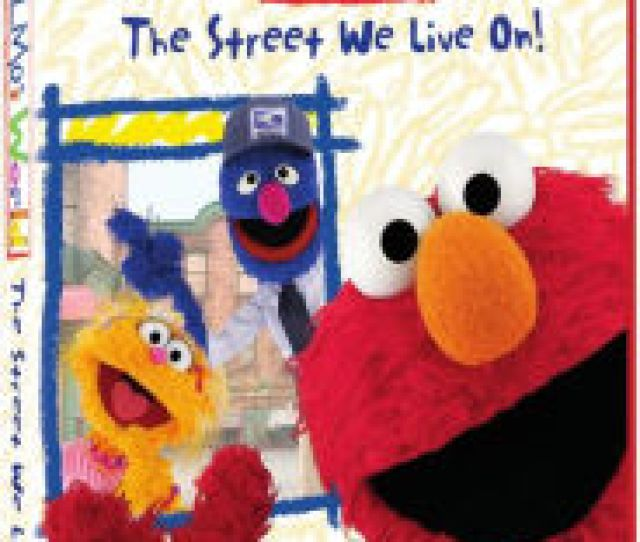 Sesame Street Elmos World The Street We Live On