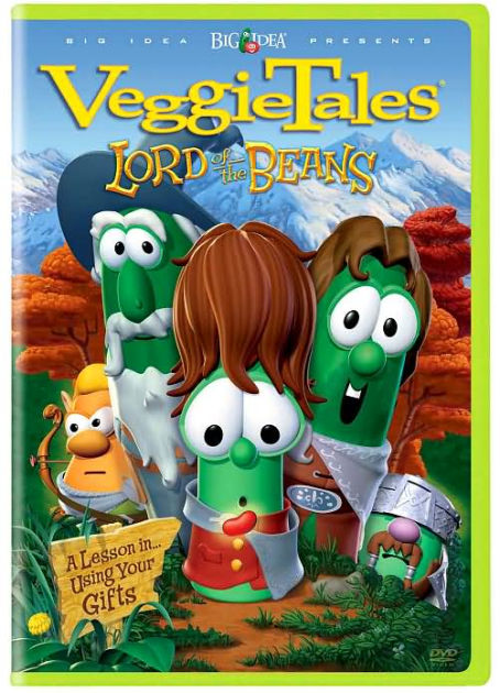 Veggie Tales Lord Of The Beans 74645879796 DVD