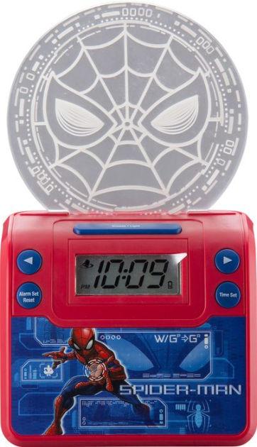 Spiderman Nightlight Alarm Clock