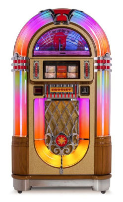 Crosley Slimline Jukebox - Oak