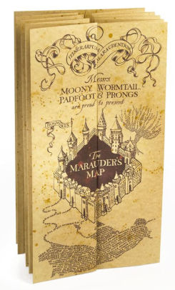 Harry Potter Marauders Map 812370013852 Item Barnes