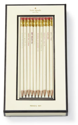 Kate Spade New York Quotes Pencil Set - Set of 10