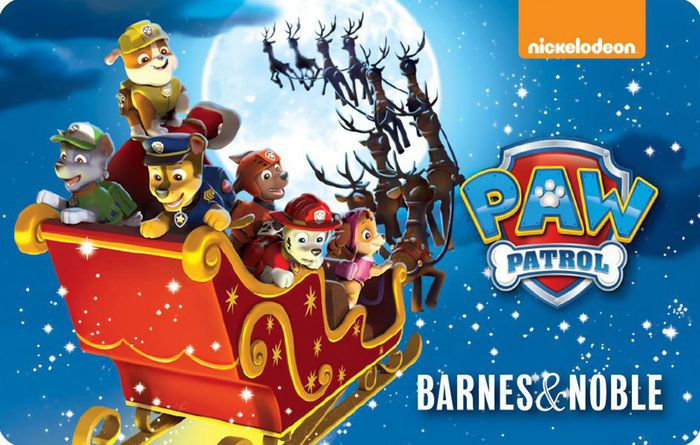 Paw Patrol Gift Card By Barnes Amp Noble 2000004062538